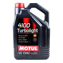 Моторное масло Motul 4100 Turbolight 10W40 5L
