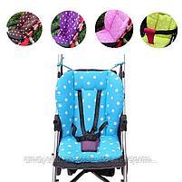 Универсальный  детский матрасик в коляску(стульчик для кормления), фото 3