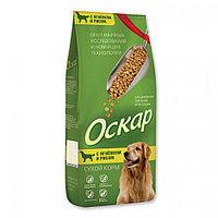 """Сбалансированный гипоаллергенный Сухой корм """"Оскар"""" для взрослых собак с ягненком и рисом 2 кг"""