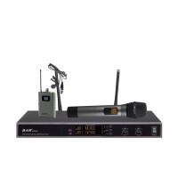 Радиомикрофоны BKR K-3034 (два ручных и два петличных)