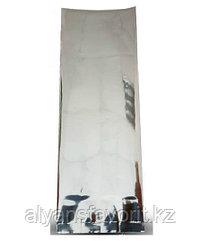 Пакет дой пак металлизированный серебристый глянцевый с центральным швом (двух шовный)