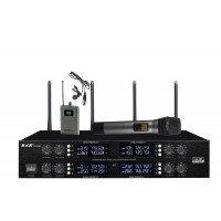 Радиомикрофоны BKR KX-D3880HB (четыре ручных и четыре петличных)