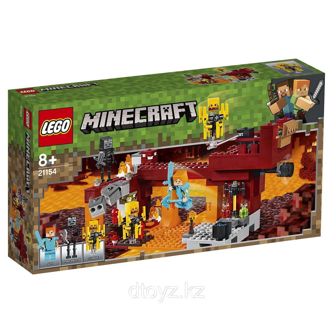 Lego Minecraft 21154 Мост ифрита, Лего Майнкрафт