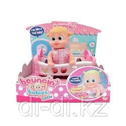 Bouncin' Babies Кукла Бони с кроваткой, 16 см