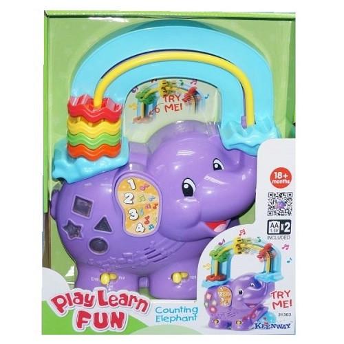 Музыкальная игрушка-считалка Веселый слоник