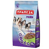Сбалансированный Сухой корм «Трапеза» Prima для взрослых собак с высокой физической активностью 2,5 кг