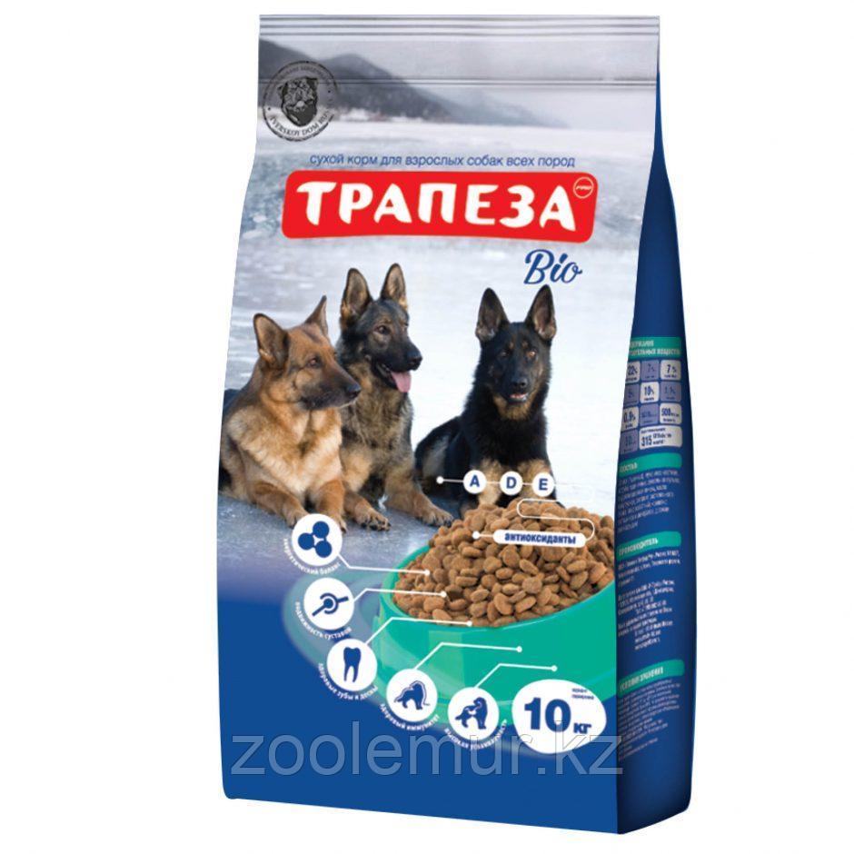 Сбалансированный Сухой корм «Трапеза» Био для взрослых собак 10 кг