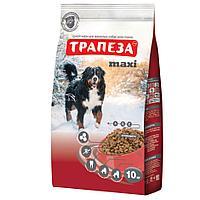 Сбалансированный Сухой корм «Трапеза» Maxi для взрослых собак крупных пород 10 кг