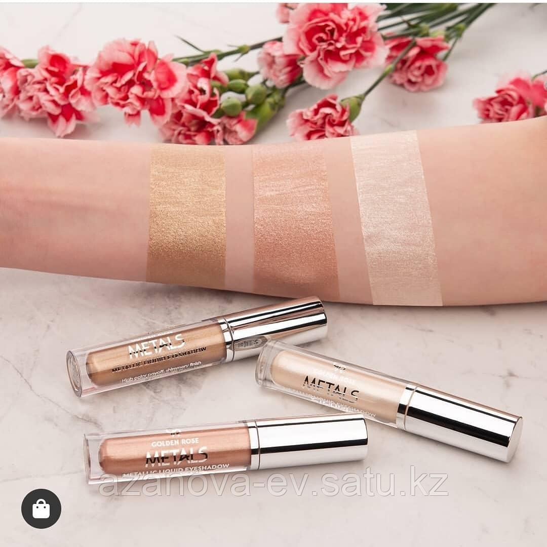Хайлайтер для макияжа лица  METALS Liquid Glow Highlighter