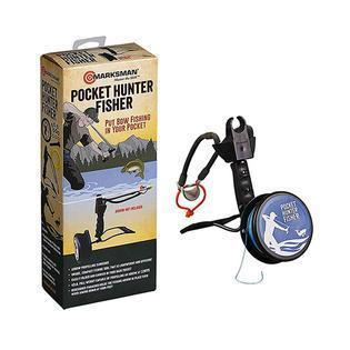 Рогатка спортивная Marksman Pocket Hunter and Fishing, Упор: Есть, 150-180 м, Упаковка: Коробка, (3075F)