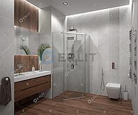 Душевое ограждение - ER10109V-C1 900*900*2000 (без поддона) прозрачное стекло