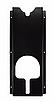 SGCB Держатель полировальных машинок, настенный, пластик, черный/красный 60*25,5*9,5см, фото 2