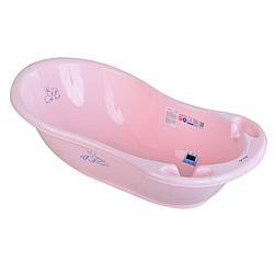 Tega Baby Ванночка детская Кролики 86 см. со сливом и термометром