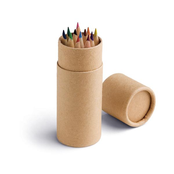 Набор цветных карандашей | 12 карандашей