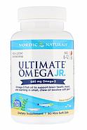 Nordic Naturals, Ultimate Omega, Junior, 680 мг, 90 жеательных таблеток в мягкой оболочке., фото 3