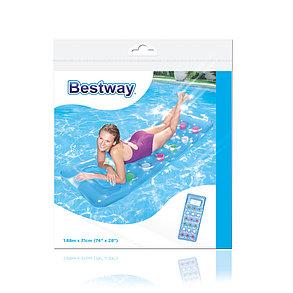 Матрас для плавания Bestwey 43040 (Синий) (188 х 71 см), фото 2