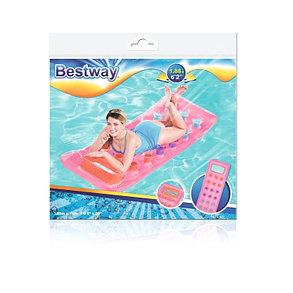 Матрас для плавания (Розовый) Bestwey 43040 (188 х 71 см), фото 2