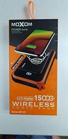Беспроводной powerbank Moxom MP-157  15000mAh