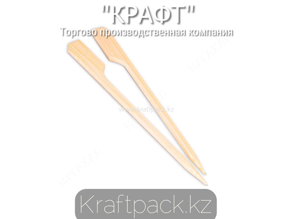 Пика бамбуковая для бургеров 12 см (100 шт/уп)