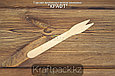 Вилка деревянная для картофеля фри 120мм (500шт/уп), фото 2