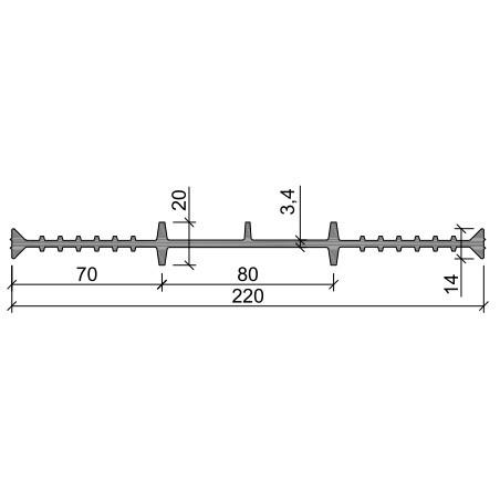 Гидрошпонка ХВ-220 ПВХ-П