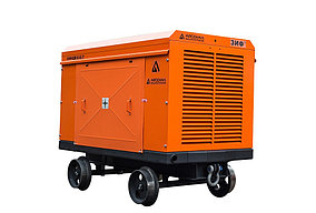 Шахтный электрический компрессор ЗИФ-ШВ 6/0,7 Т (660; 380 В, на скатах)