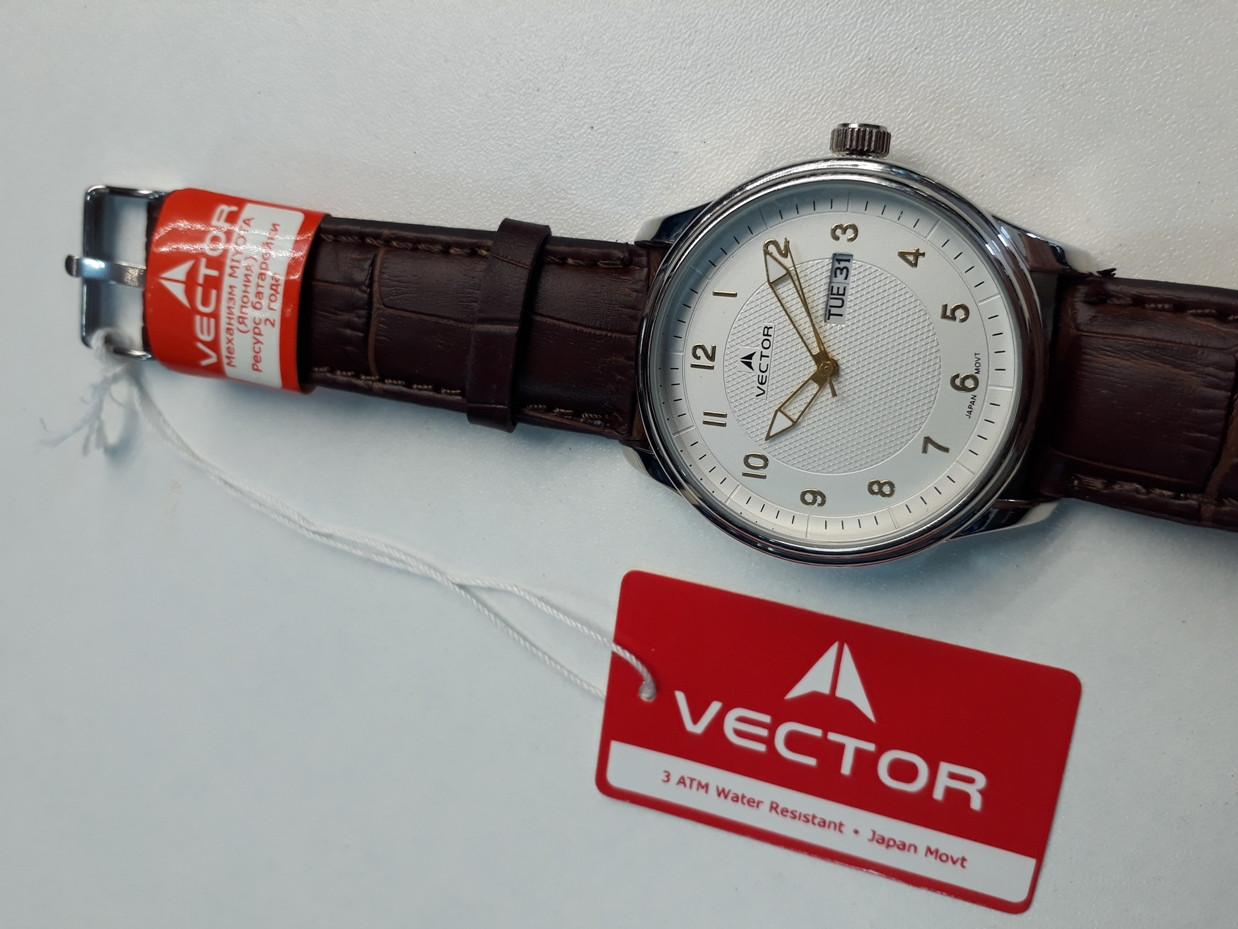 "Российские кварцевые часы ""Vector"""