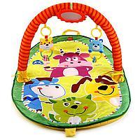 """Умка Детский игровой коврик """"Веселые открытия"""", прямоугольный с дугой для новорожденных"""