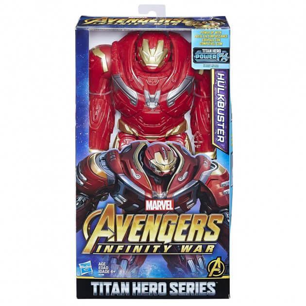 "Фигурка Халкбастер ""Мстители: Война бесконечности"" серия Titan Hero Power FX Port Hasbro E1798"