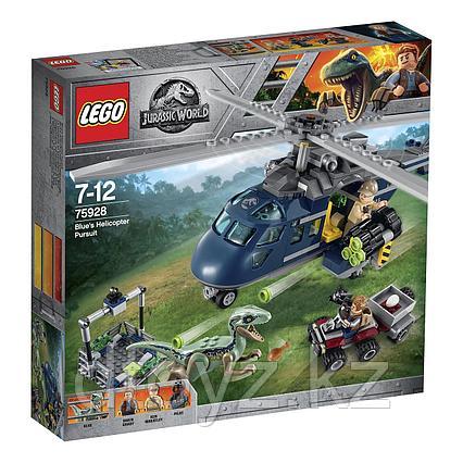 Lego Jurassic World 75928 Погоня за Блю на вертолёте