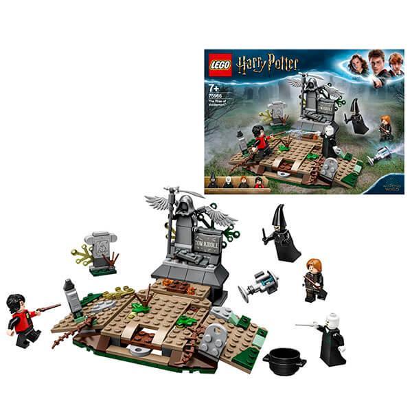 LEGO Harry Potter 75965 Конструктор ЛЕГО Гарри Поттер Возвращение Лорда Волан-де-Морта