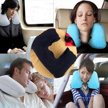Дорожная надувная подушка «Travel Blue»