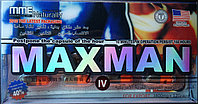 Капсулы Maxman IV (Максмэн) новое поколение для повышения потенции