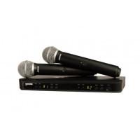 Радиомикрофоны SHURE BLX288E/PG58 K3E