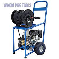 Аппарат прочистки канализации и водосточных труб