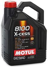 Моторное масло Motul 8100 X-cess 5W40 5L