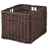 Корзина ГАББИГ темно-коричневый ИКЕА, IKEA, фото 1