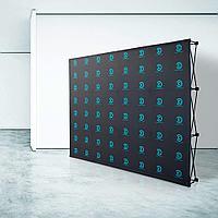 Пресс-стена Поп-ап Велкро конструкция / Pop-up Velcro мобильный стенд