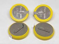 Батарейка Panasonic CR2450  3v с выводами под пайку