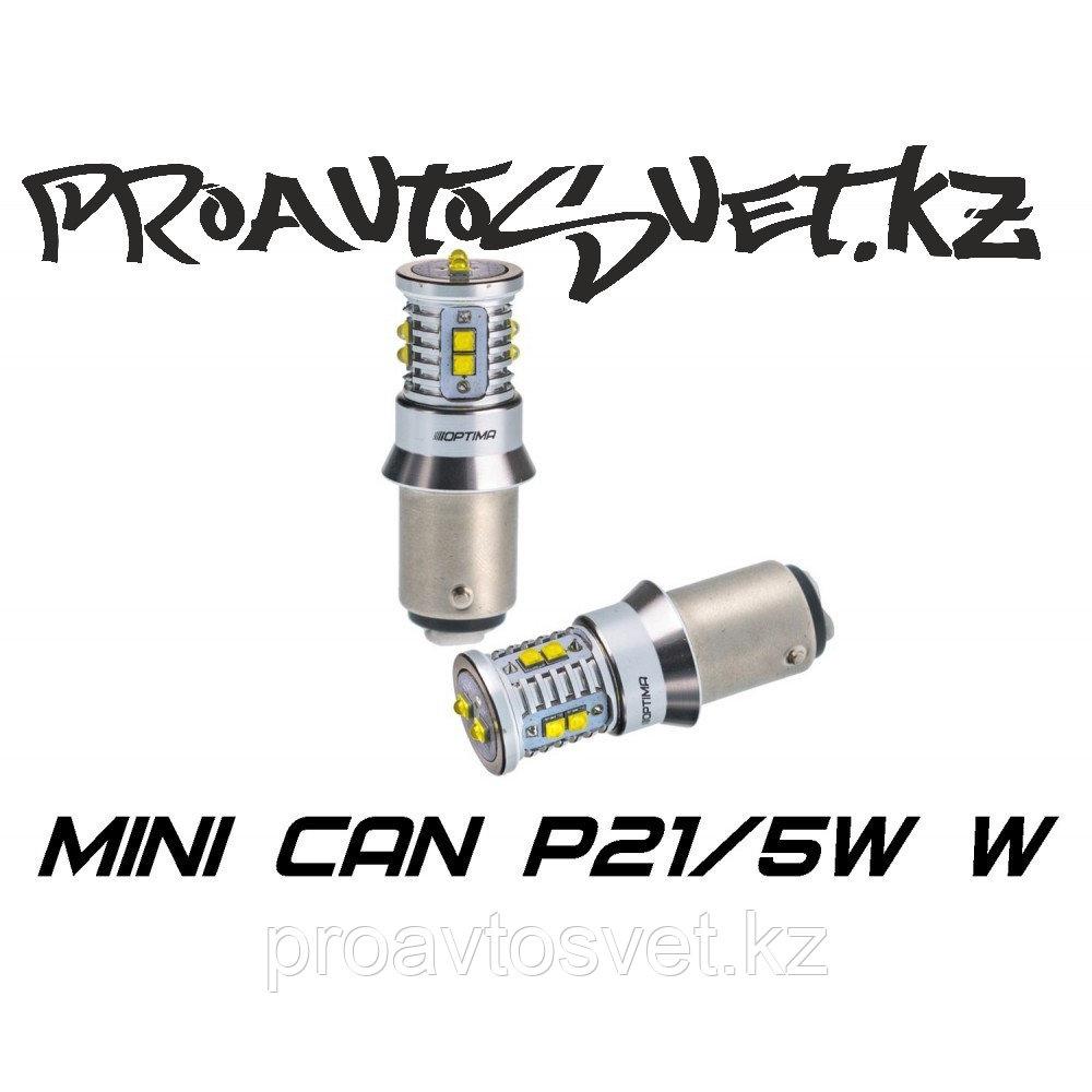 Светодиодная лампа Optima Premium MINI P21/5W белая с обманкой
