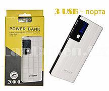 Портативное зарядное устройство DEMACO Power Bank DMK-A38 20000 mAh, белое
