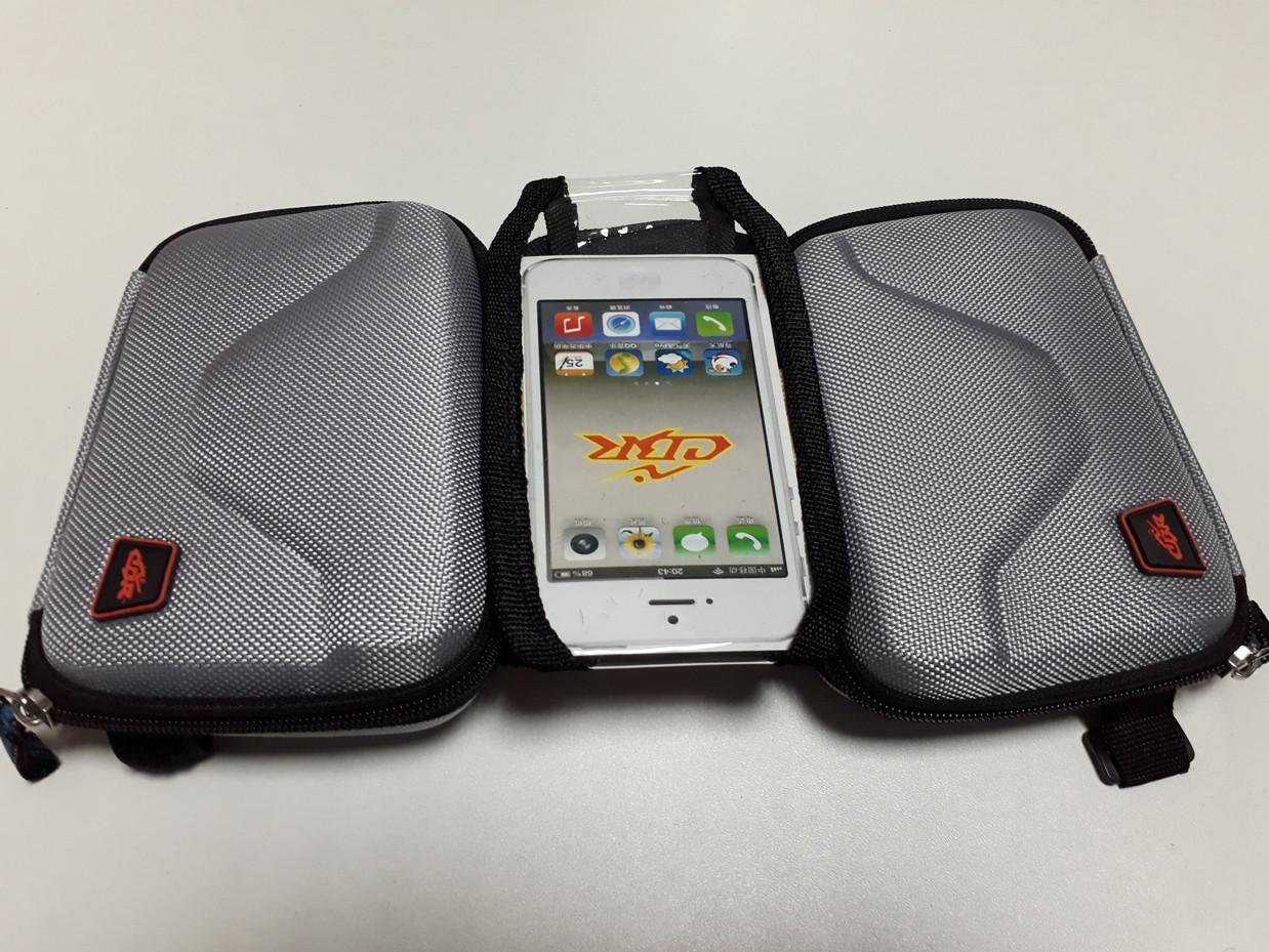 Сумка для велосипеда на раму с держателем телефона. Рассрочка. Kaspi RED.