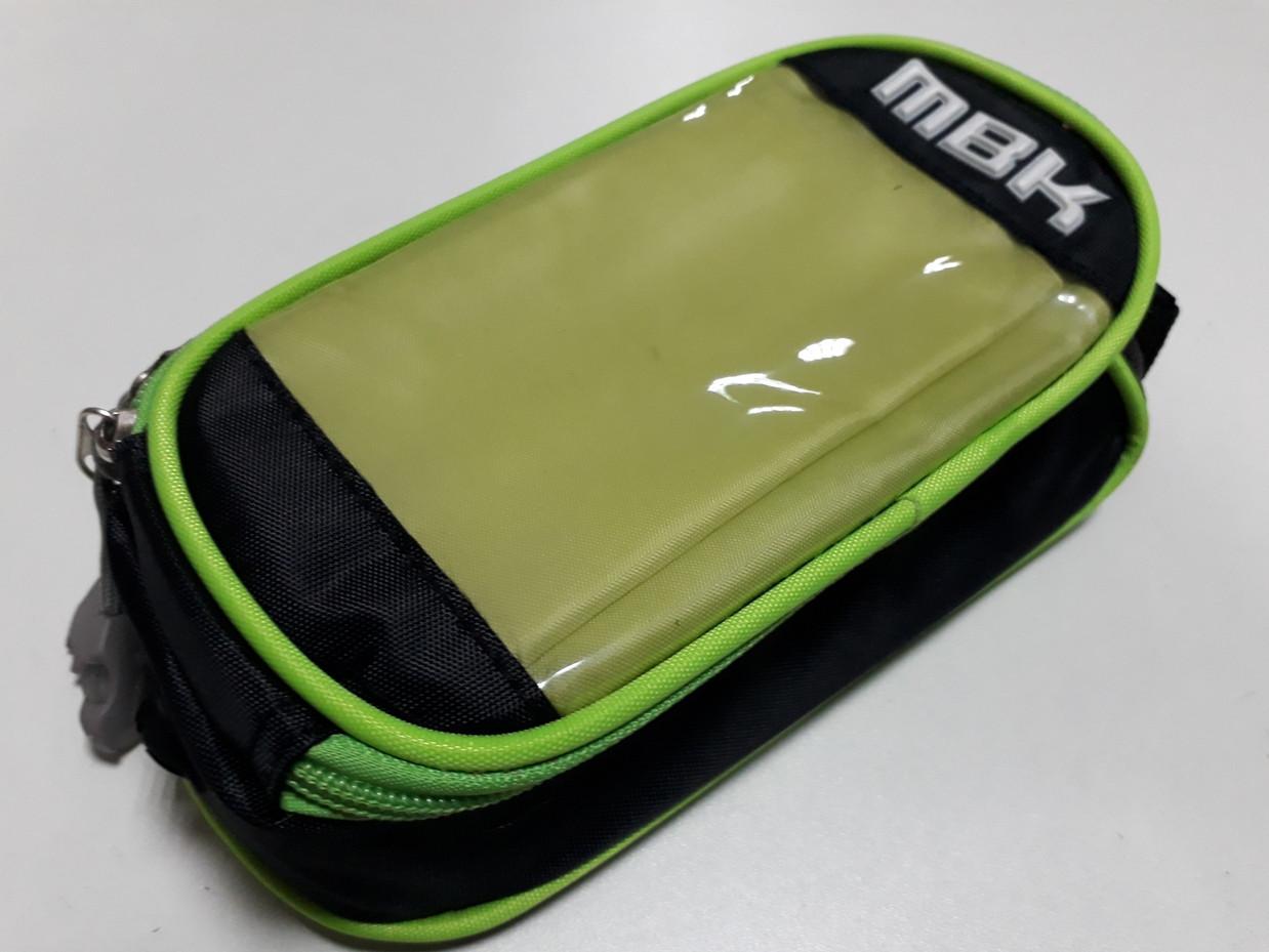 Сумка для велосипеда MBK на раму с держателем телефона
