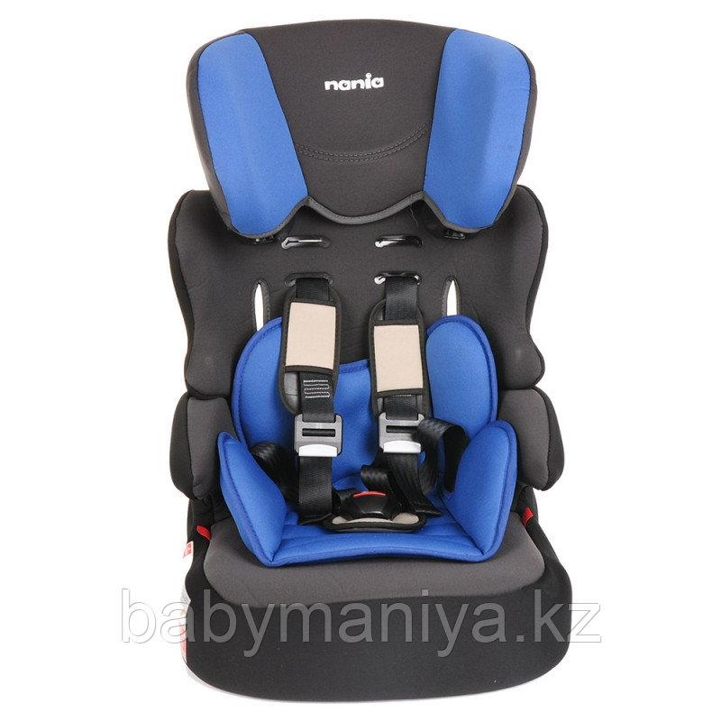 Автокресло 9-36 кг  Nania BELINE SP ACCESS BLUE 2019 Голубой