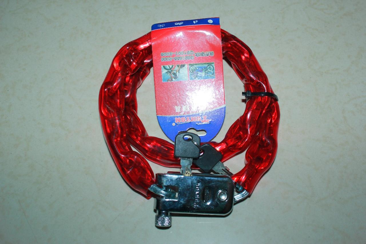 Противоугонная металлическая цепь для велосипеда