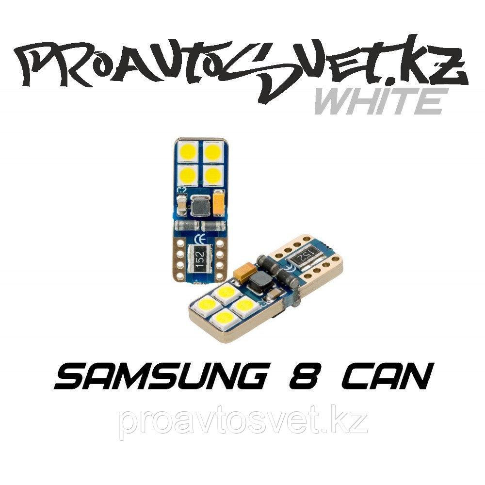Светодиодная лампа Optima Premium W5W (T10) Samsung Chip 8 CAN 5100K