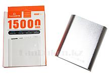 Портативное зарядное устройство Padcoo Power Bank  K4 15000 mAh, серебристый