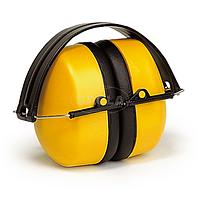 Наушники МАХ 500, складные, 30 дБ, желтые