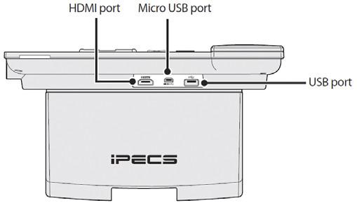 IP видеотелефон LIP-9070 - back view