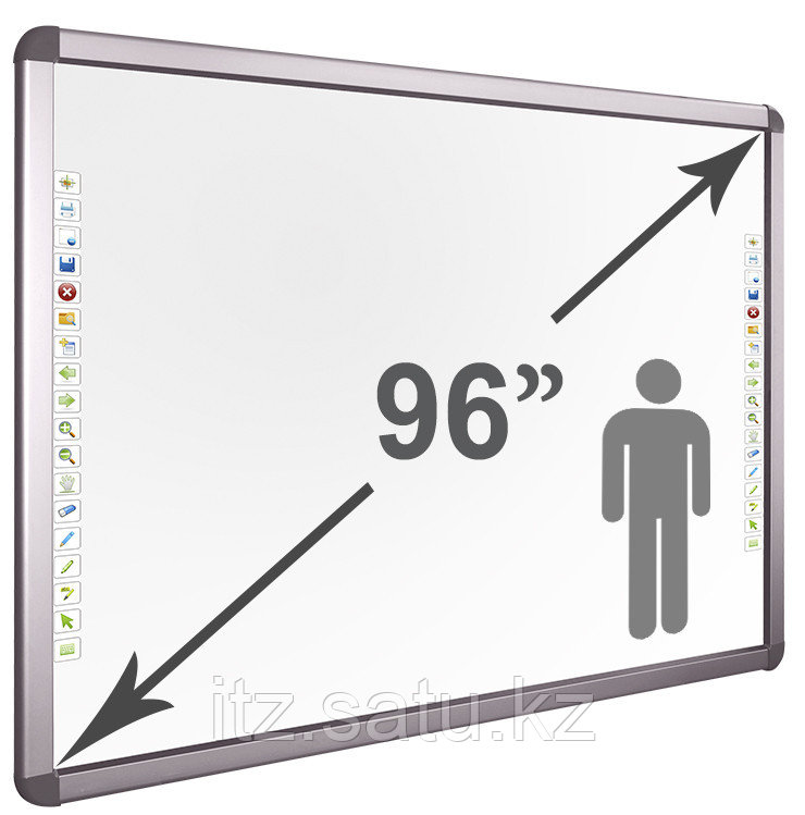 Интерактивная доска DigiTouch H96, Серый